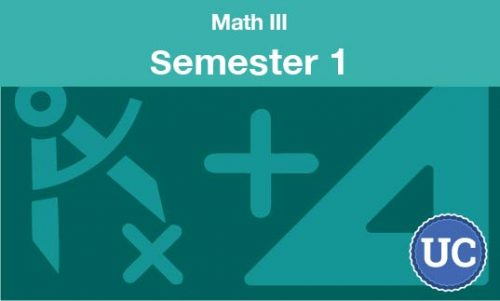 math 3 Semester one