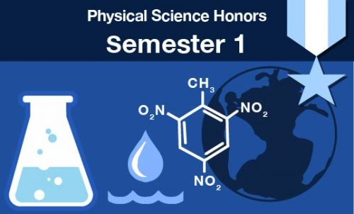 physical science honors Semester one