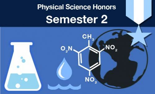 physical science honors Semester two