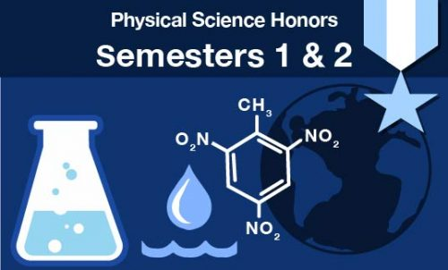 physical science honors Semesters one and two