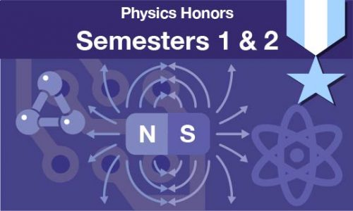 physics honors Semesters one and two