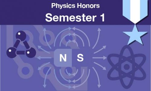 physics honors Semester one
