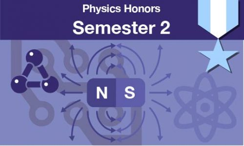physics honors Semester two