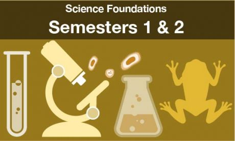 science foundations Semesters one and two