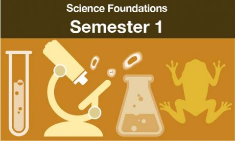 science foundations Semester one