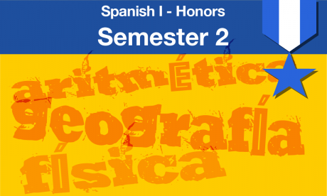 Spanish 1 honors course