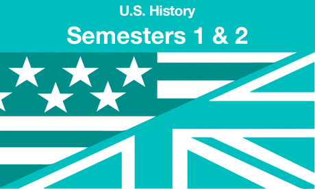 US history Semesters one and two