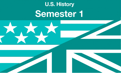 US history Semester one