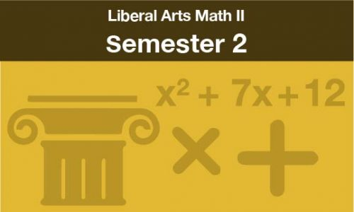 liberal arts math 2 Semester two