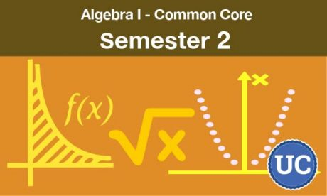Algebra one common core Semester two