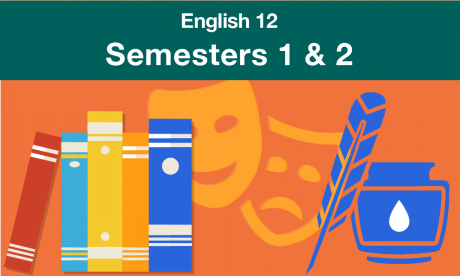 english 12 Semesters one and two
