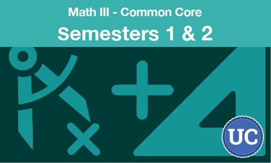math three common core Semesters one and two