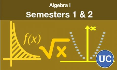 algebra 1 - semesters one and two