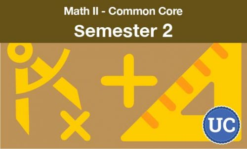 math 2 common core - semester two