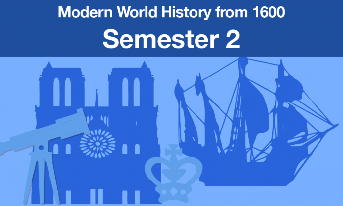 Modern World History From 1600 Semester two