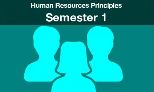 Human Resources Principles Semester one