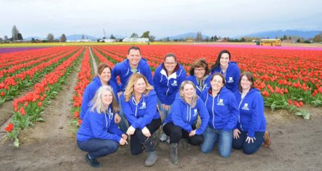 Some of our staff at ALVS in Skagit Valley, Washington