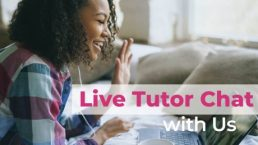 ALVS has live tutor chat during regular hours. Get course-related questions answered in real time!