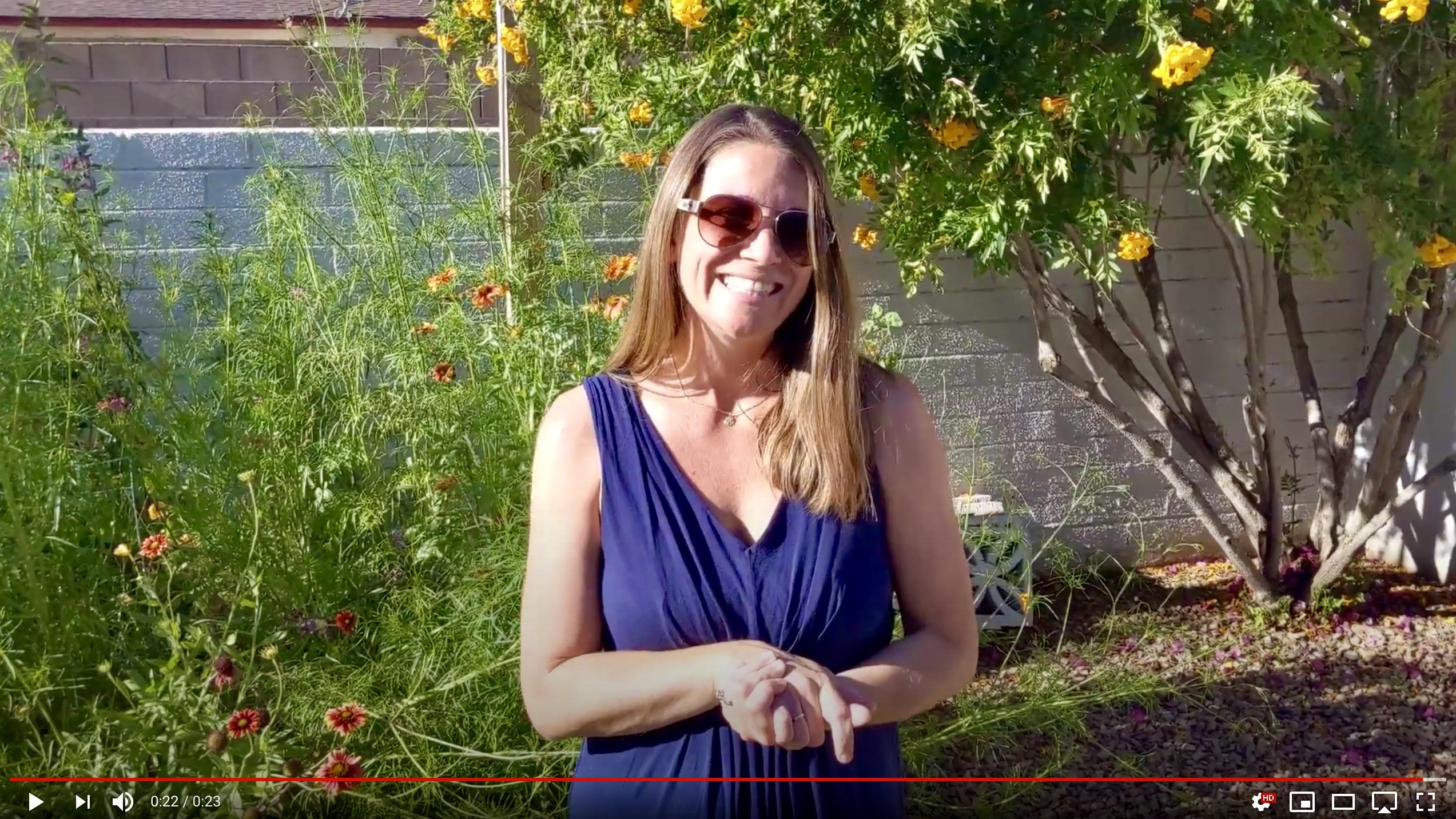 ALVS teacher Darcy Harper introductory welcome video